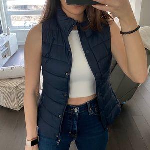 Trendy puffer vest. Size: XS